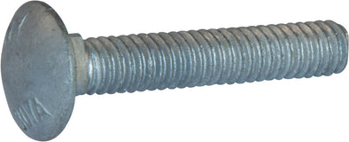 1/2-13 x 2 1/2 A307 Grade A Carriage Bolt HDG - FMW Fasteners