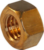 1/4-20 Finished Hex Nut Silicon Bronze - FMW Fasteners