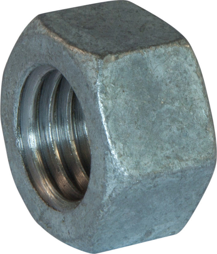 1/2-13 Grade 2 Finished Hex Nut Hot Dipped Galvanized - FMW Fasteners