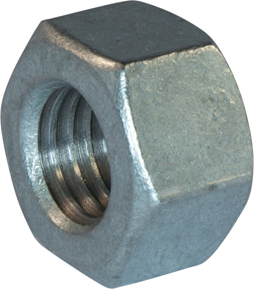 1/2-13 A563 Grade A Heavy Hex Nut Hot Dipped Galvanized - FMW Fasteners