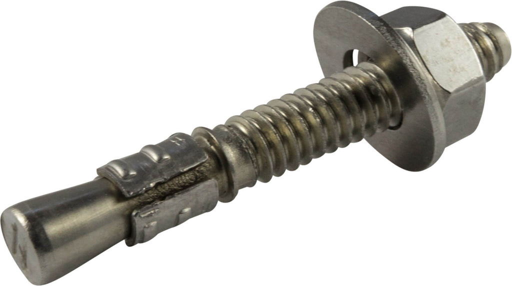 1/2-13 x 5 1/2 STRONG-BOLT® 2 Cracked and Uncracked Concrete Wedge Anchor 316 Stainless Steel(25) - FMW Fasteners