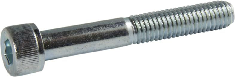 1/4-28 x 1/2 Socket Cap Screw Zinc - FMW Fasteners