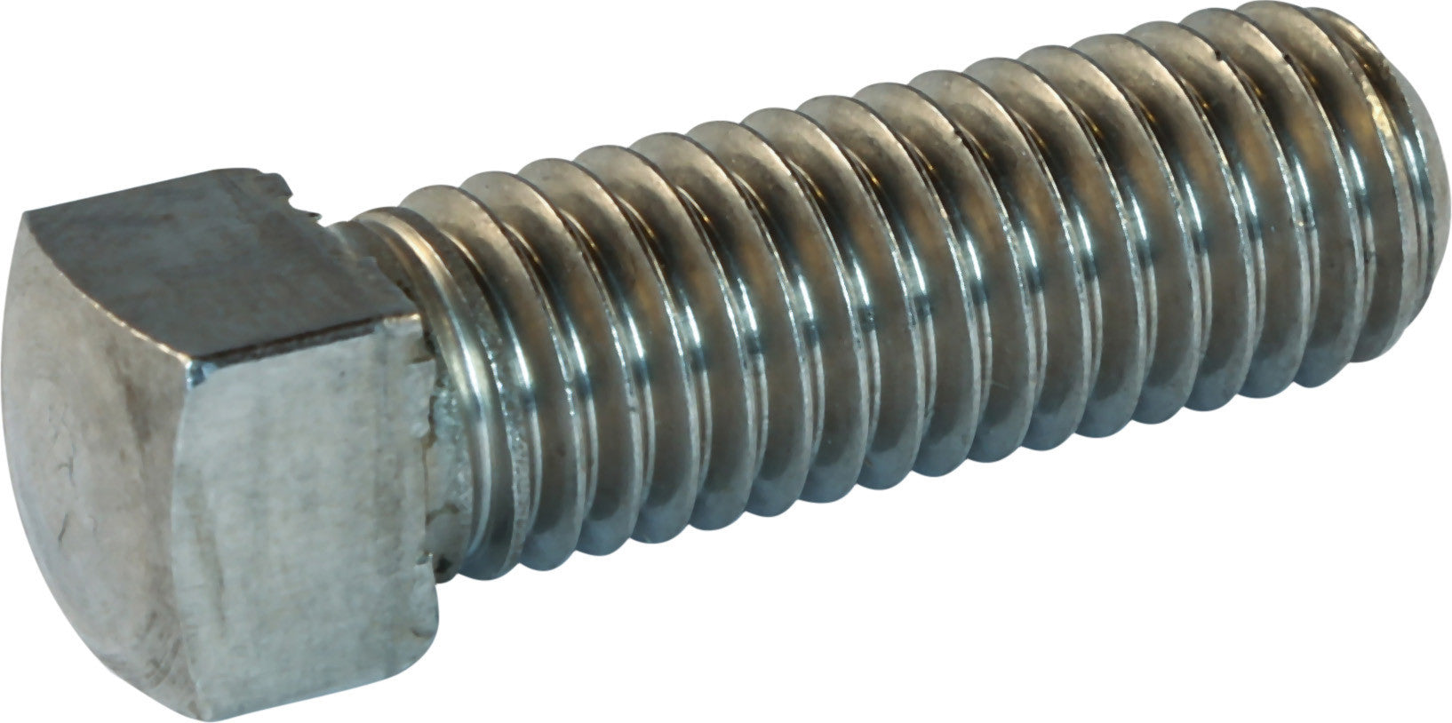 5//16-18 x 2 1//2 FT Coarse Thread Square Head Set Screw Cup Point Low Carbon Steel Case Hardened Plain Finish Pk 25