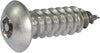 6 x 3/8 Tamper Resistant Hex Button Head Socket Sheet Metal Screw 18-8 Stainless Steel (1/8) - FMW Fasteners