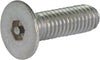 M3-0.50 x 10 Tamper Resistant Hex Flat Head Machine Screw 18-8 Stainless Steel - Metric (3/32) - FMW Fasteners
