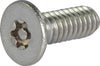 M3-0.50 x 6 Tamper Resistant Torx Flat Head Machine Screw 18-8 Stainless Steel - Metric (T-10) - FMW Fasteners