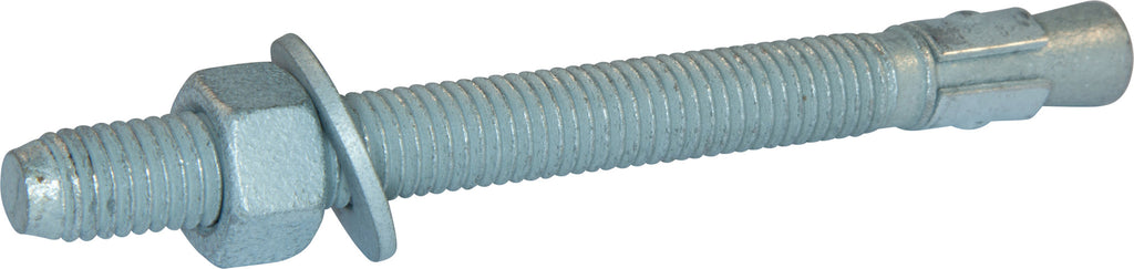 1/2-13 x 5 1/2 Wedge Anchor Mech Galv (25) - FMW Fasteners