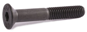 M8-1.25 x 10 Flat Socket Cap Screw 12.9 DIN 7991 Black Oxide - FMW Fasteners