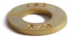 1/4 Grade 8 SAE Flat Washer Yellow Zinc Plated - FMW Fasteners