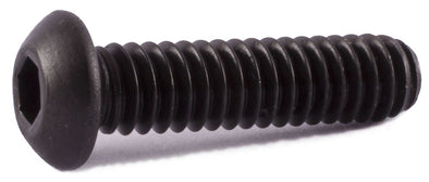 1/4-28 x 1/2 Button Socket Cap Screw Alloy - FMW Fasteners