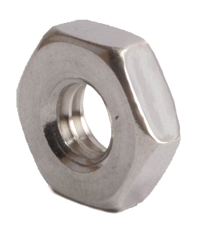12-24 Machine Screw Nut SS 18-8 (A2) - FMW Fasteners