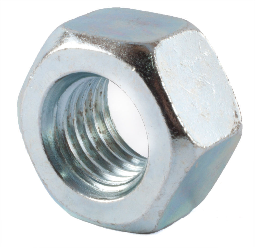 3/8-16 A563 Grade A Heavy Hex Nut Zinc Plated - FMW Fasteners
