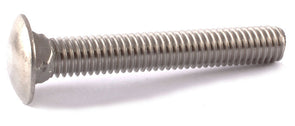 5/16-18 x 1 Carriage Bolt SS 18-8 (A2) - FMW Fasteners