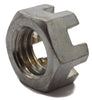 1/4-20 Slotted Hex Nut Zinc Plated - FMW Fasteners