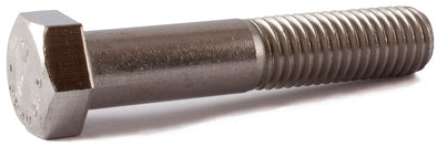 1/4-28 x 4 1/2 Hex Cap Screw SS 316 (A4) - FMW Fasteners