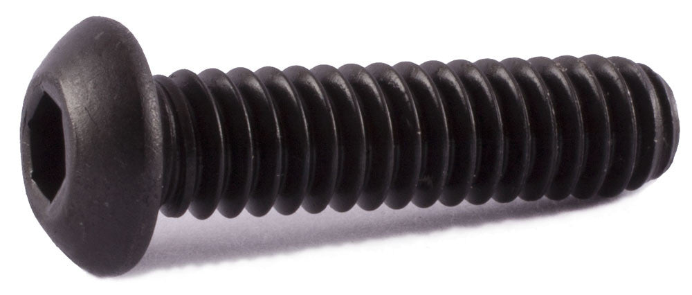 6-32 x 5/8 Button Socket Cap Screw Alloy - FMW Fasteners