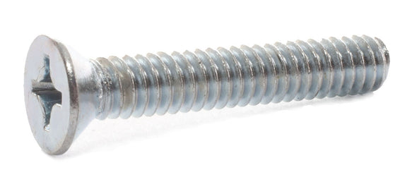 6-32 x 5/8 Phillips Flat Machine Screw Zinc - FMW Fasteners