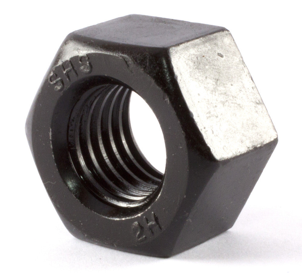 2 1/2-8 A194 2H Heavy Hex Nut Plain - FMW Fasteners