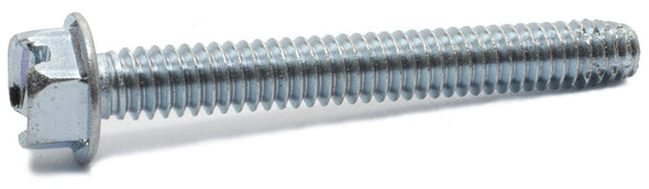 3/8-16 x 1 1/2 Slotted HWH Machine Screw Type F Zinc Plated - FMW Fasteners