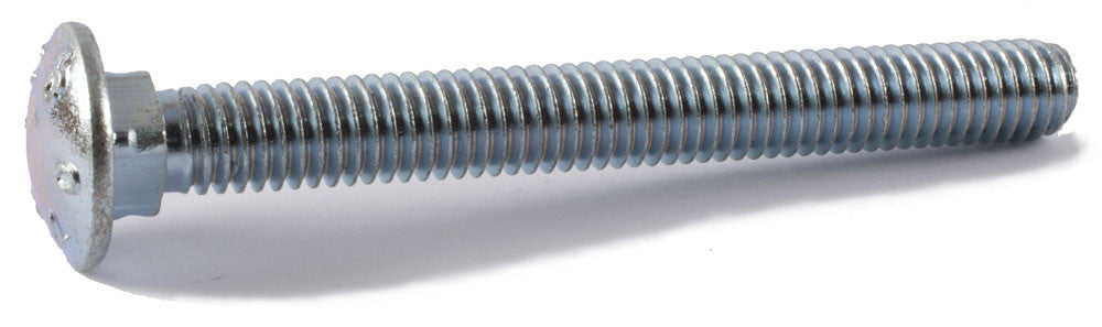 1/2-13 x 5 A307 Grade A Carriage Bolt Zinc Plated - FMW Fasteners