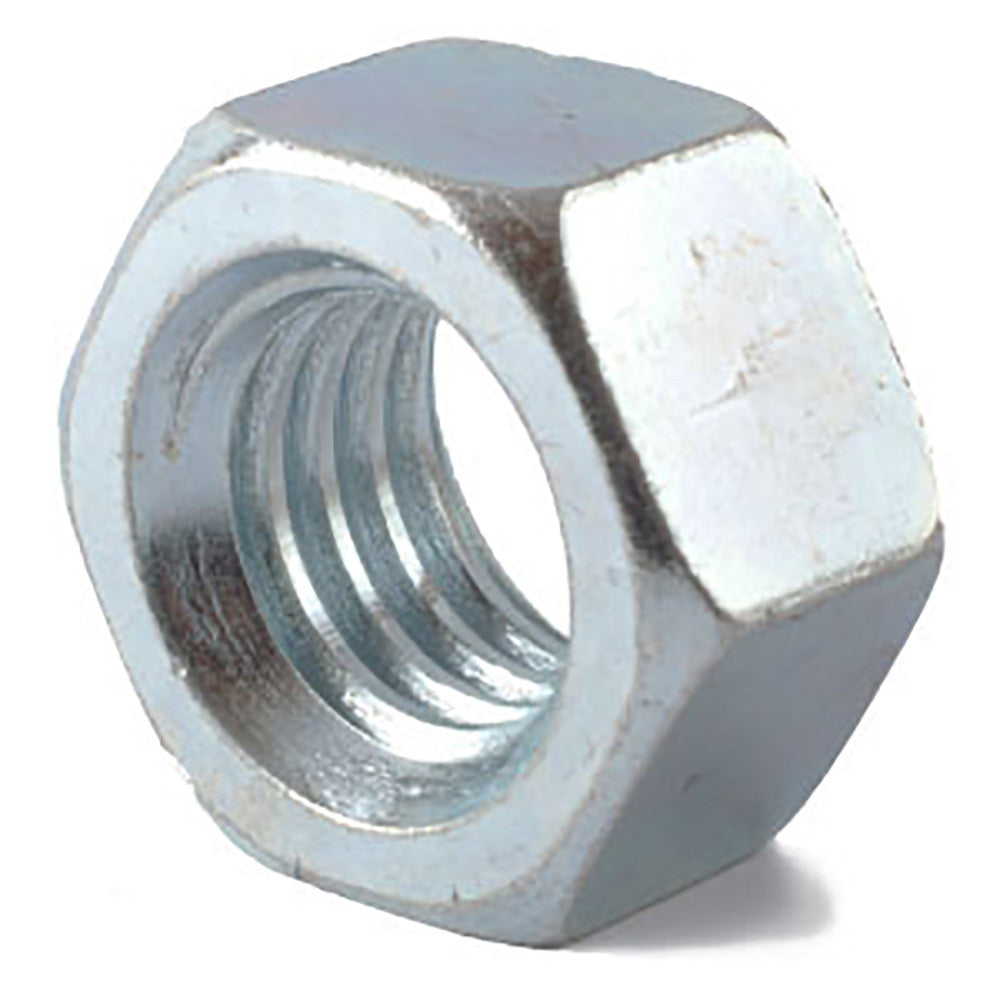 9/16-12 Grade 2 Finished Hex Nut Zinc Plated - FMW Fasteners