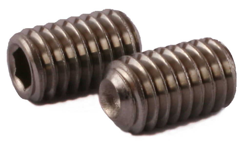 1-72 x 3/32 Socket Set Screw Cup Point 18-8 (A2) Stainless Steel - FMW Fasteners