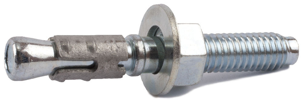 1/2-13 x 4 3/4 STRONG-BOLT® 2 Cracked and Uncracked Concrete Wedge Anchor Zinc Plated (25) - FMW Fasteners