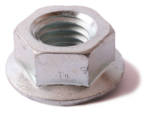 1/4-20 Serrated Flange Nut Zinc Plated - FMW Fasteners