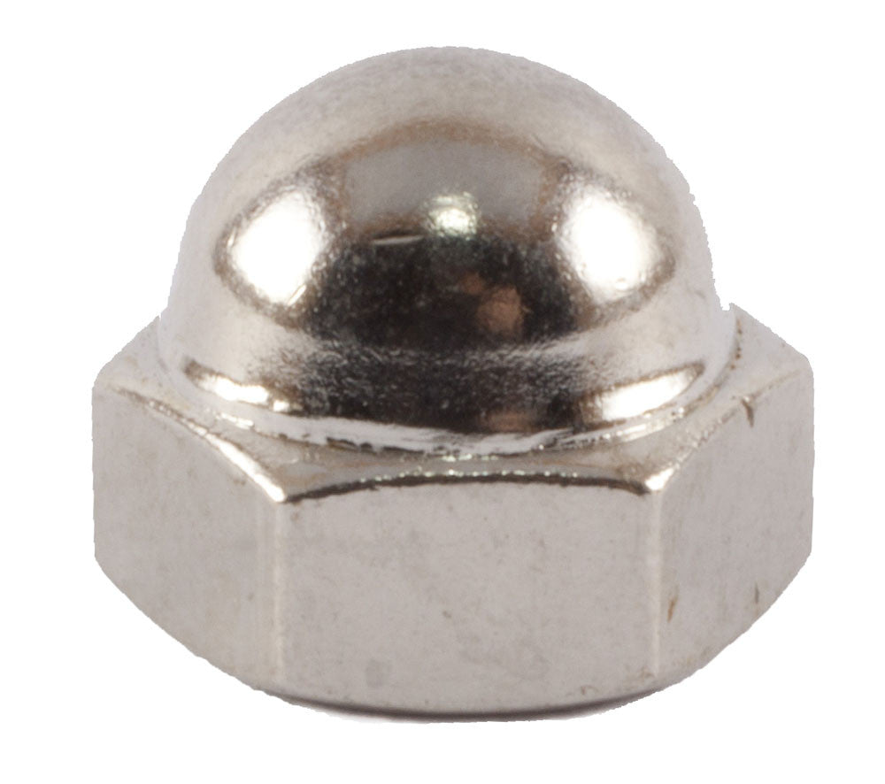 3 4 10 Cap Nut Nickel Fmw Fasteners