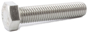 1/2-13 x 2 1/4 Hex Tap Bolt 18-8 (A2) Stainless Steel - FMW Fasteners
