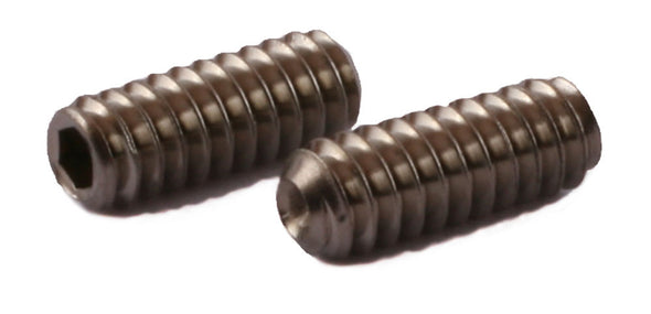 4-40 x 3/16 Socket Set Screw Cup Point 316 (A4) Stainless Steel - FMW Fasteners