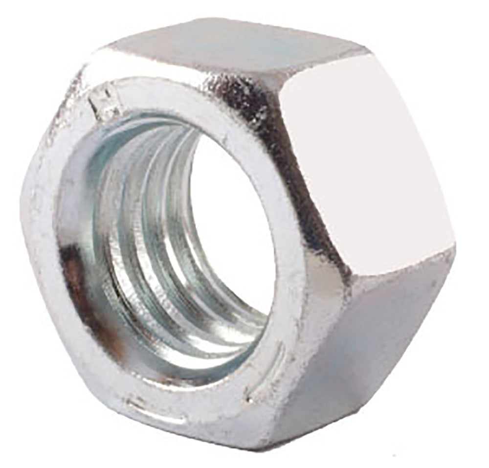 7/16-14 Grade 5 Finished Hex Nut Zinc Plated - FMW Fasteners