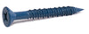 3/16 x 1 1/4 Phillips Flat TITEN® Concrete Screw Blue - Box (100) - FMW Fasteners
