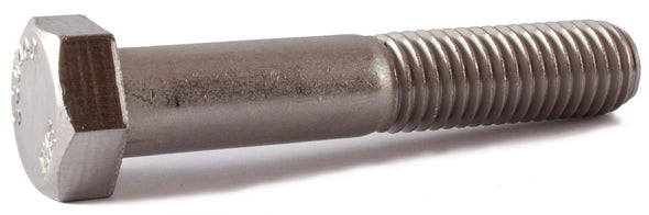 9/16-18 x 4 1/2 Hex Cap Screw SS 18-8 (A2) - FMW Fasteners