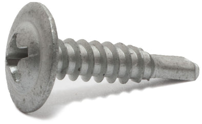 8 x 9/16 Simpson Mod Truss-Head Self-Drilling Wire Lath Screws - Phillips Drive 410 SS - Box (100) - FMW Fasteners