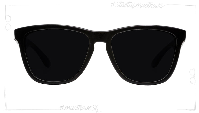 Start Up BLACK MATE WITH BLACK & BLACK-POLARIZED