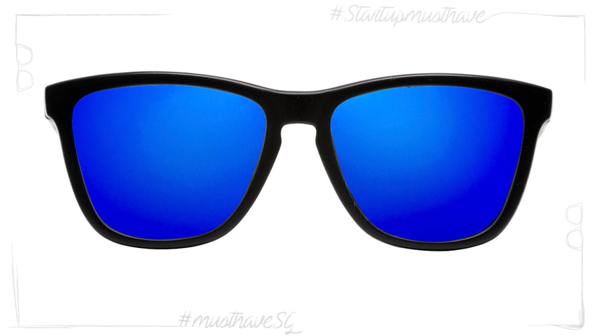 Start Up BLACK MATE WITH BLACK & BLUE POWER-POLARIZED