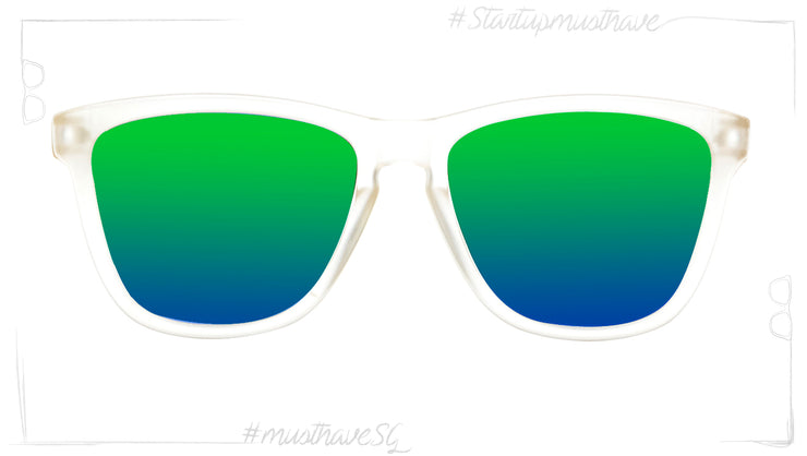 Start Up WHITE FROST & PARROT-POLARIZED