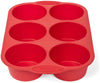 Elite Bakeware 4 Piece Silicone Muffin and Cupcake Set