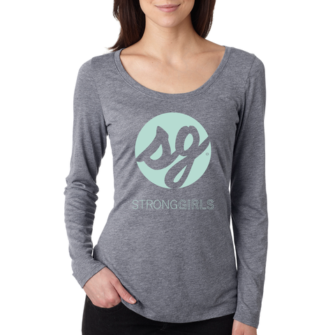 SG - Women's Long Sleeve Scoop Neck Tee