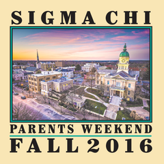 SIGMA CHI Parents Weekend