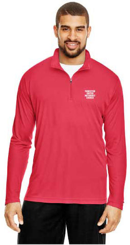 Long Sleeve Wicking Quarter-Zip Pullover (Youth & Adult)