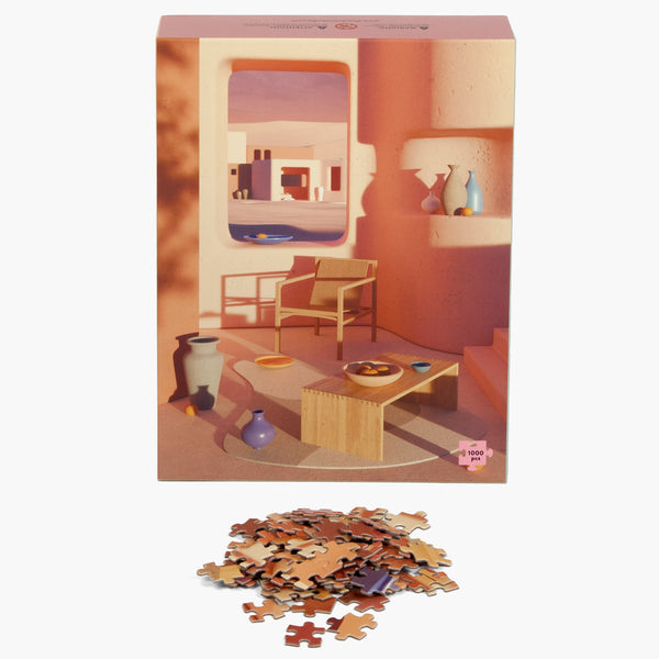 Adobe Interior 1000 Piece Puzzle