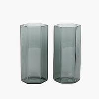 Coucou Tall Glass Set - Smoke