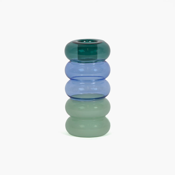 Pauline Candle Holder - Teal