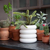Stacking Planter - White