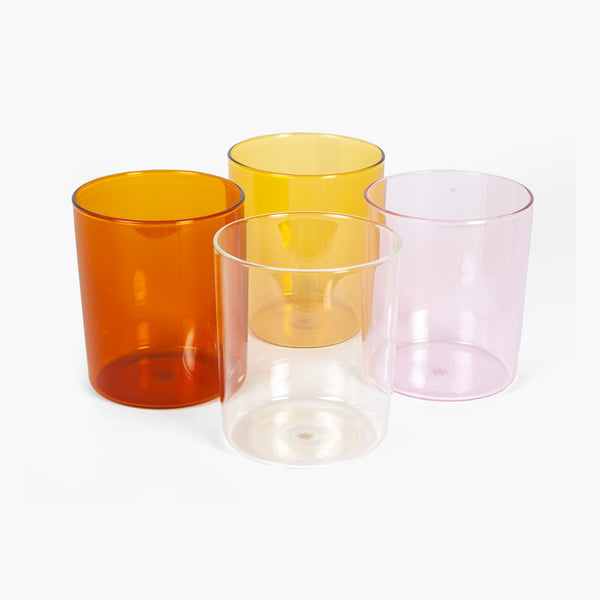 Glass Cup Summer Set