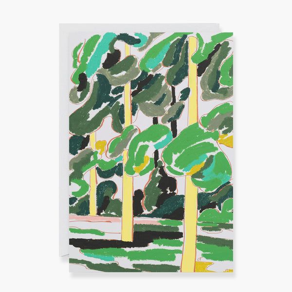 Three Trees Art Card