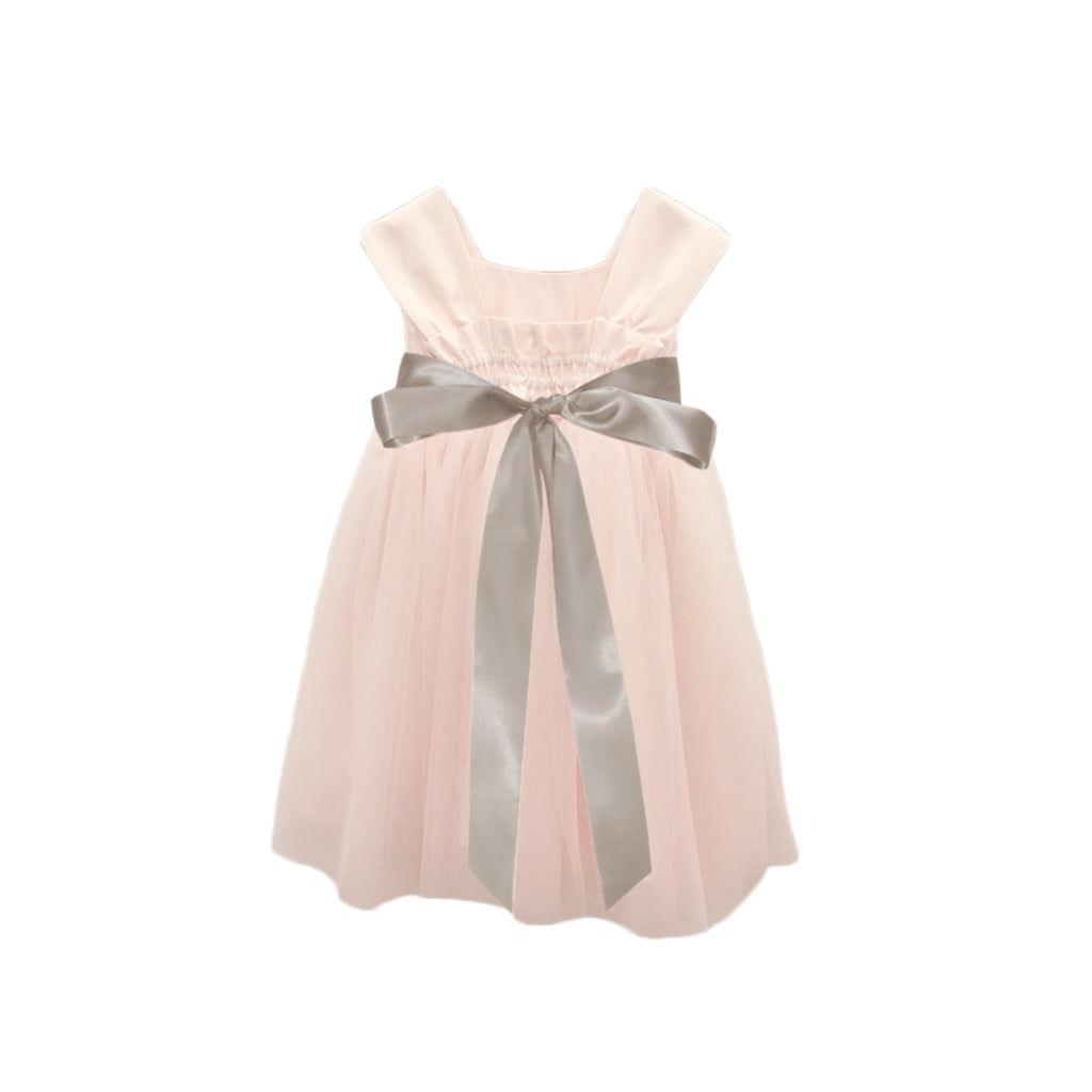 Soufflé Tulle Dress | Blush Pink
