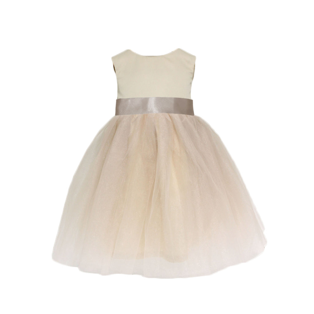 Meringue Tulle Dress | Champagne